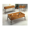 Storage Flip Top CoffeeTable Medium Brown PineFinish7352(CO)