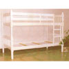 White Twin/Twin Bunkd Bed CM-BK606W(IEM)