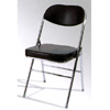 Extra Thick Chromed Folding Chair 7469B (PK)