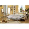 4-Piece Contemporary Silver Queen Size Bedroom Set 7601 (CO)