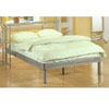 Contemporary Silver Platform Bed 7605 (CO)