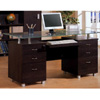 Glass Top Office Desk 800231 (CO)