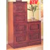 Cherry Finish File Cabinet 80030_ (CO)