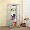 Silver Metal  Book Shelves 800453(CO)