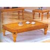 Pine Cocktail Table 838-01 (WD)