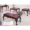 3-Pc Hand Carved Cherry Table Set 869-01/02 (WD)