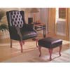 Wing Chair/Ottoman Set  8916 (A)