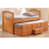 Twin Size Bed & Trundle w/Drawers 8935 (A)