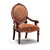 Oak Finish Accent Chair 900101 (CO)
