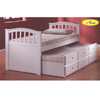 San Marino Twin Bed W/ Trundle  9145 /8935 (A)