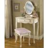 28 In. Childrens Bedroom Vanity Set  929-290(PW)