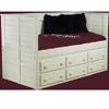 Solid Wood Twin Size Day Bed 4DB(PC)
