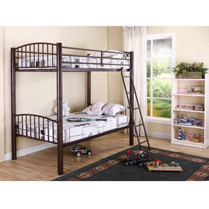 Heavy Duty Dorm Metal Convertible Bunk Bed B400_B(KB)