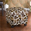 Giraffe Faux Leather Storage Ottoman BC5956R (SEIFS)