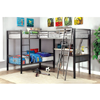 Metal L-shaped Triple Twin Bunk Bed (FSFS)