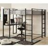 Sherman Full Size Woorkstation Loft Bed CM-BK1098F(IEM)