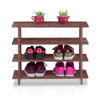 Pine Solid Wood 4-Tier Shoe Rack CST26550(WFFS)