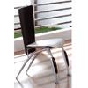 Silver/Black Dining Chair DC523B (PK)