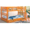 Convertible Wooden Bunk Bed With Drawers F9029 (PX)