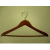 Gemini-concave suit hanger w/wooden bar GMA8818 (PM)