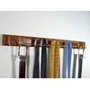 Home Essential Tie & Belt Hanger Walnut HG 16176 (PMFS12)