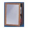 Surface/Recess Oak Frame Medicine Cabinet K-268 (ARC)
