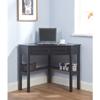 Black Solid Wood Corner Computer Desk 10850957(OFS103)