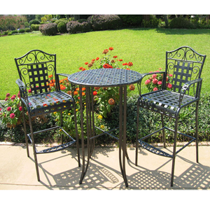 Wrought Iron Bistro Set 1141780(OFS300)
