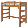 Solid Wood Twin or Full Heartland Loft Bed
