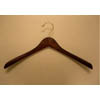 Contoured Coat Hanger in Mahogany Finish LEV8992M (PM)