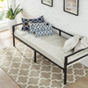 30 Inch Wide Day Bed Frame and Foam Mattress Set