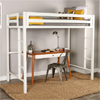 Twin Metal Loft Bed OSTSQTOL(250 Lbs Weight Capacity)