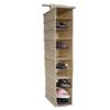 Ten Shelf Hanging Closet Organizer SB10212(HDS)