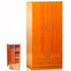 Wardrobe with Two Drawers and Shelf WD-134(CR)