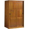 Solid Wood Sliding Door Wardrobe 562_(PL)