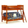 Castle Twin/Futon Bunk Bed (JM)