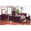 Dark Cherry Finish Bedroom Set CM7825_ (IEM)