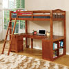 Dutton Workstation Loft Bunk Bed cm-bk265a (IEMFS)