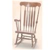 Solid Beechwood Rocking Chair CR-1212-K(BB)
