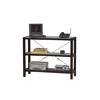 Metro Glass Top Three Shelf Bookcase 74011ESP-01-KD-U (LN)