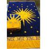 Egyptian Cotton Beach Towel Navy-Sun (RPTFS)