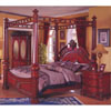 Bedroom Set In Cherry Finish R75_ (DS)