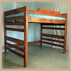 Aspen Hardwood Loft Bed RU2_(RM)
