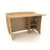 43 In. Straight Desk SDB-110_ (LF)