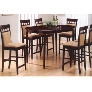 5 Pc Counter Height Dining Set 100208/219 (CO)