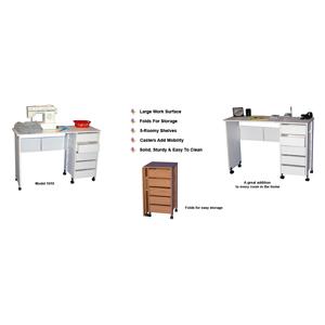 Hideaway Mobile Desk Workstation 1010(VHFS)