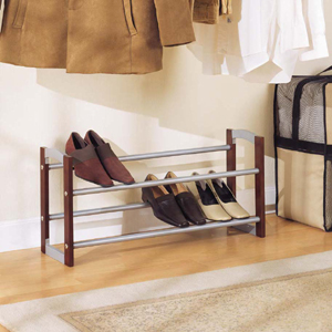 2 Tier Expandable Shoe Rack 10731(OI)