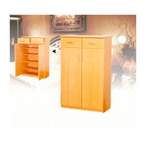 Shoe Cabinet 2 Door and Drawer 168-126 (VF)