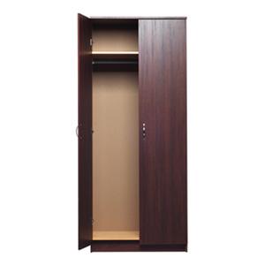 akadaHOME 72-inch Walnut Finish Wardrobe ST105905TW(OFS)
