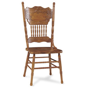 Dining chairs double press back oak chair 1c04 502 icfs for Classic concepts furniture california